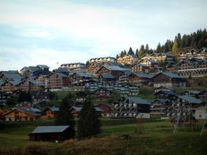 Les Saisies - Residences - chalets of the ski resort