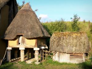 Samara Park - Reconstruction of a prehistoric environment (Iron Age): attic built on stilts
