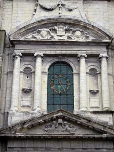 Saumur - Facade of the Saint-Pierre church
