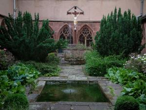 Saverne - Garden of the Récollets cloister