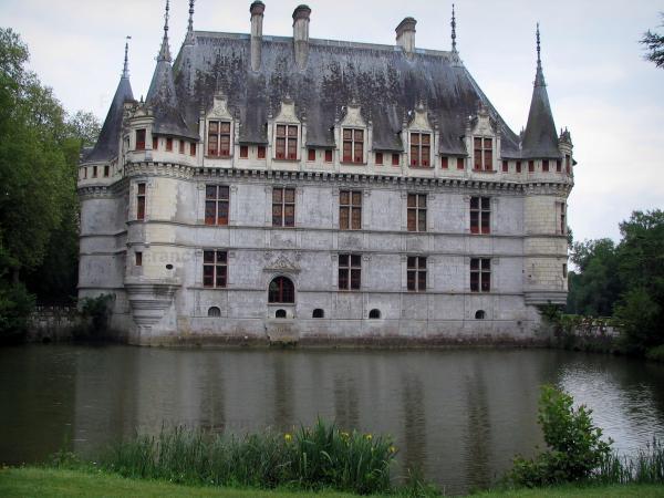 Das Schloß Azay-le-Rideau - Führer Tourismus & Urlaub