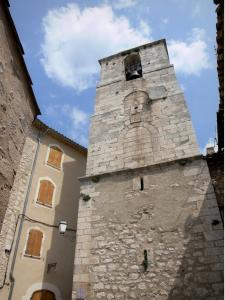 Simiane-la-Rotonde - Saint-Jean bell tower