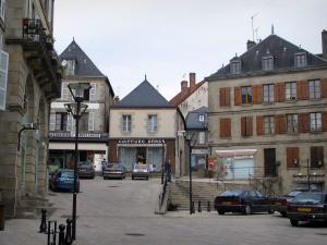 La Souterraine - Houses in the medieval town