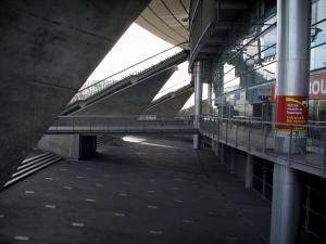 Stade de France stadium - Stairs of the Stade de France stadium