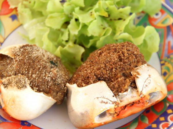 Stuffed crab - Gastronomy, holidays & weekends guide in Overseas