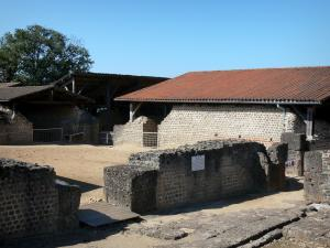 Thermes de Chassenon - Gallo-Roman site (Cassinomagus)