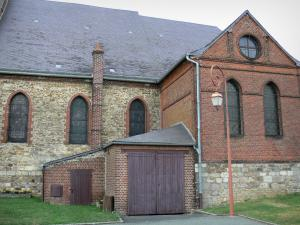 Thiérache - Saint-Martin church in Wimy
