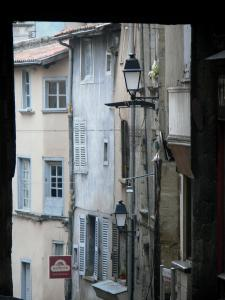 Thiers - Facades of the old city