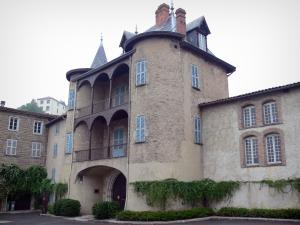 Thiers - Moutier quarter: fortified abbey house
