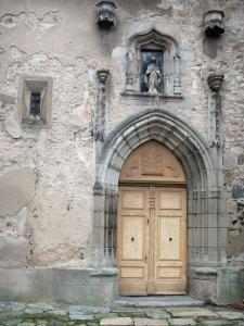 Thiers - Portal of the Saint-Jean church