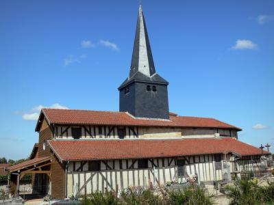 Timber-framed churches of the Pays du Der area