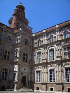 Toulouse - Assézat mansion, with its tower, home to the Bemberg foundation