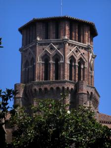 Toulouse - Church bell tower of the former Augustines convent (Augustines museum)