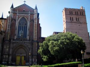 Toulouse - Saint-Etienne cathedral and its garden