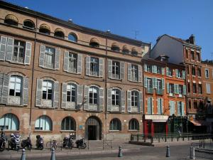 Toulouse - Houses of the old town