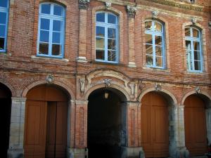 Toulouse - Facade of a residence
