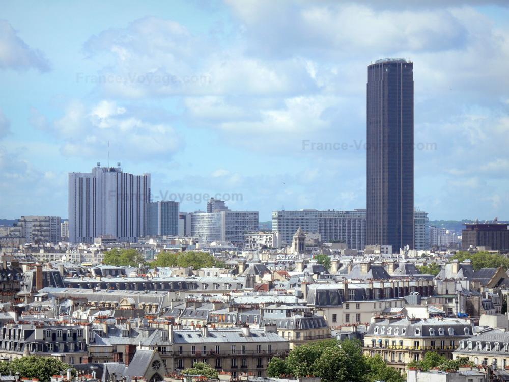 Photos la tour montparnasse guide tourisme vacances for Piscine montparnasse