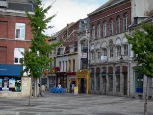 Tourcoing - Houses and shops of the city