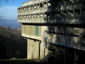 La Tourette convent - Religious building designed by Le Corbusier in Éveux