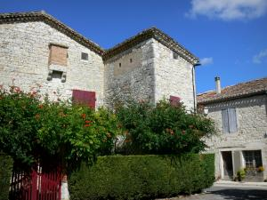 Tournon-d'Agenais - Stone houses of the bastide