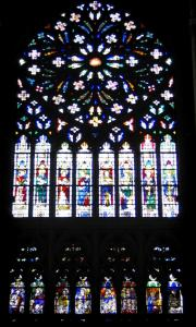 Tours - Stained glass windows of the Saint-Gatien cathedral