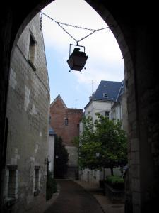 Tours - Suspended lantern and houses of the old town