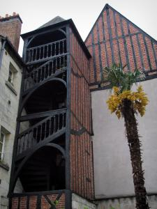 Tours - Stairs tower and houses of the old town
