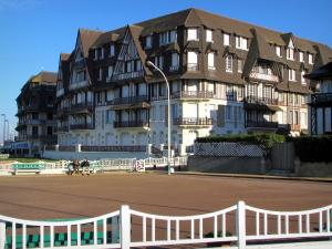 Trouville-sur-Mer - Côte Fleurie (Flower coast): half-timbered residences in the seaside resort