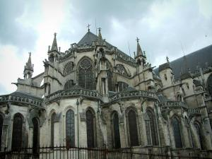 Troyes - Saint-Pierre-et-Saint-Paul cathedral of Gothic style