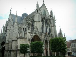 Troyes - Saint-Urbain Basilica of Champagne Gothic style