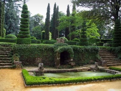 De tuien van het kasteel van Eyrignac Gids Toerisme