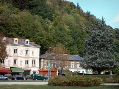 Uriage les bains guide tourisme vacances - Hotel les terrasses uriage ...