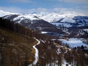 Valberg - Trees, snow, residences, houses and mountains