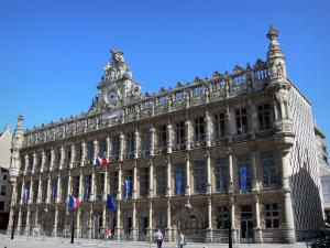Valenciennes - Facade of the town hall