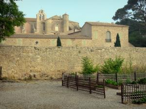 Valmagne abbey - Cistercian abbey and medieval garden