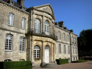 Valognes - Beaumont mansion, in the Cotentin peninsula