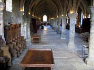 Vaux-de-Cernay abbey - Room of the Monks, in the Upper Chevreuse Valley Regional Nature Park