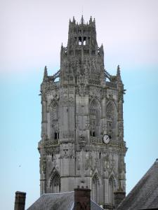 Verneuil-sur-Avre - Madeleine tower (Gothic tower of the Madeleine church)
