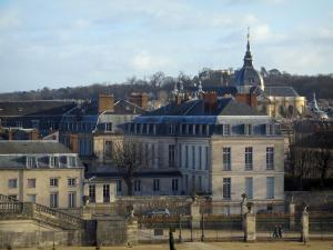 Versailles - Buildings of the royal city and the Saint-Louis cathedral