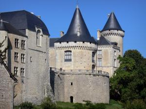 Verteuil-sur-Charente - Castle, in the Charente valley