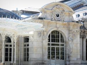 Vichy - Spa town (resort): facade of the Conference Centre-Opera (former Casino)