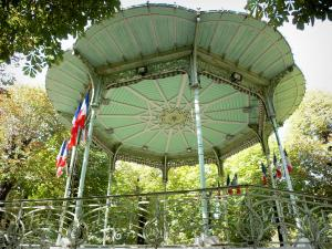 Vichy - Bandstand in the Park of the Springs