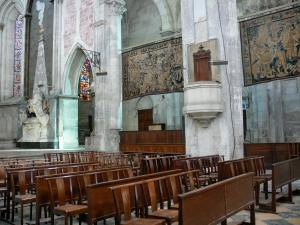 Vienne - Inside the Saint-Maurice cathedral
