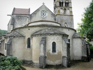 Vignory church - Apse of the Saint-Etienne Romanesque church