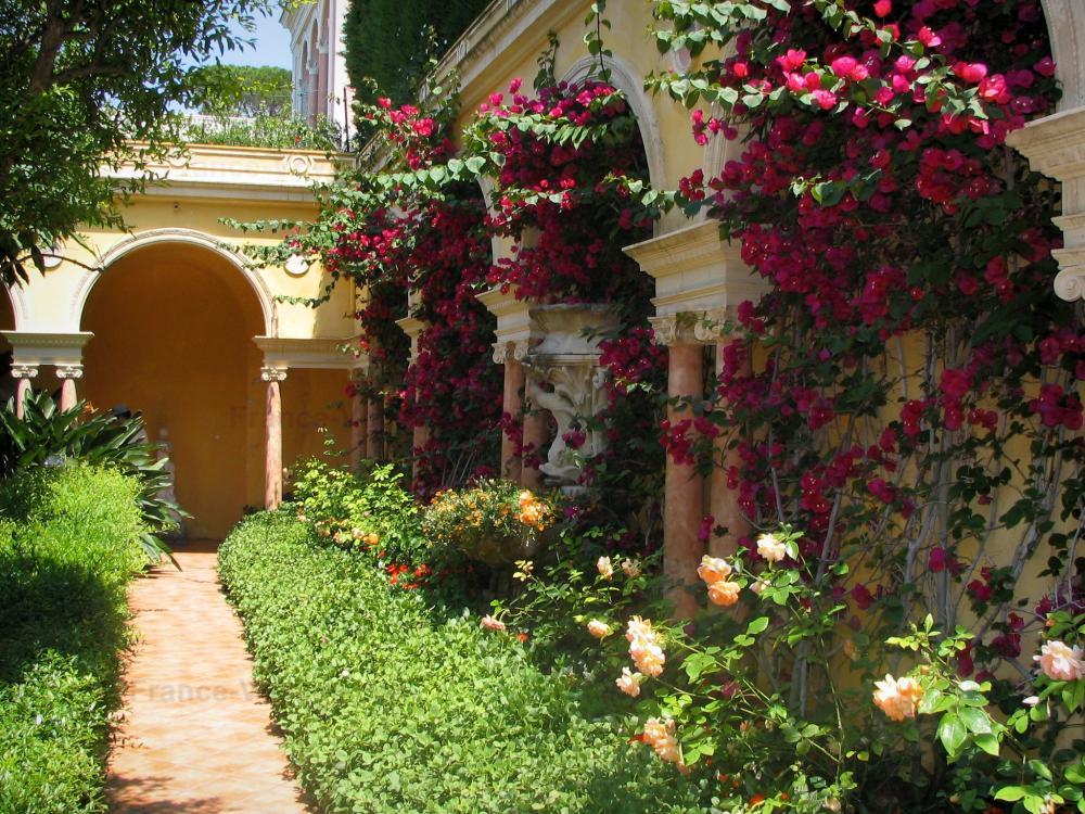 Photos villa ephrussi de rothschild 23 quality high for Jardin en espagnol