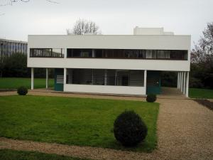 Villa Savoye - House of modern architecture, work of Le Corbusier and Pierre Jeanneret, in Poissy