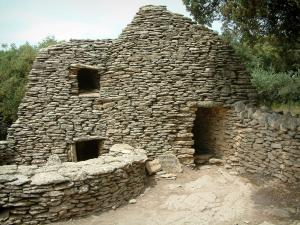 Village des Bories - Dry stone sheepfold (construction)