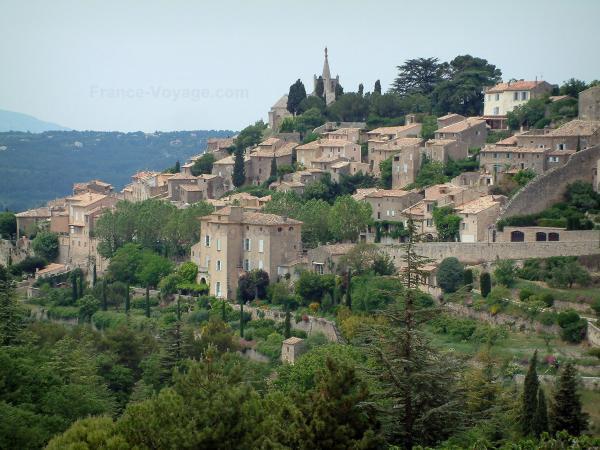 Les villages du luberon guide tourisme vacances - Office du tourisme du vaucluse ...