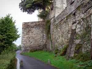 Vitré - Walk at the foot of the ramparts