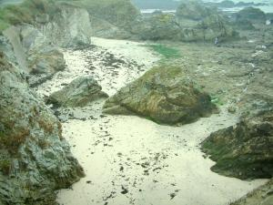 Wild coast (côte sauvage) - Sand and cliffs